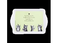 "Ashdene Tacka mała 89564 ""psotne kotki"" zielona"