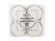 Price's Candles tealighty zapachowe OPEN WINDOW duże