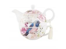 """Ashdene zestaw do herbaty tea for one 16248 """"niebieski ptak"""""""