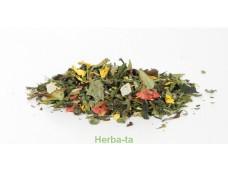 """herbata zielona z dodatkami """"Siedem zielonych skarbów"""""""
