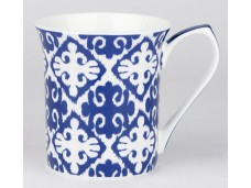 """Ashdene Kubek porcelanowy 16196 wzór """"ultramaryna"""""""