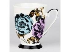 """Ashdene Kubek porcelanowy 16197 """"ogród kwiatów - róża"""""""