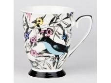 """Ashdene Kubek porcelanowy 16198 """"ogród kwiatów - ptaki"""""""