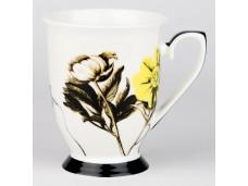 """Ashdene Kubek porcelanowy 16199 """"ogród kwiatów - peonia"""""""