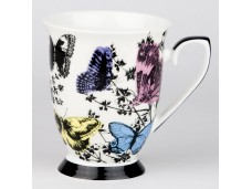 """Ashdene Kubek porcelanowy 16200 """"ogród kwiatów - motyle"""""""