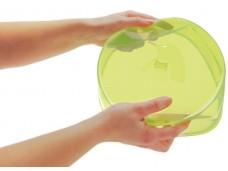 Pinfi Silikonowa składana pokrywa do potraw zielona
