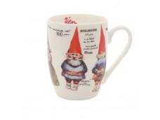 """Rien Kab Kubek porcelanowy 174580 """"wood gnome"""""""