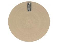 Jackies Bay Mata - podkładka na stół okrągła 175440 - jasnobrązowa