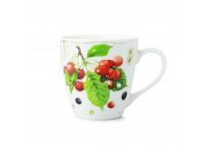 """Marjolein Bastin Kubek porcelanowy XL 176301 """"owoce - wiśnia"""""""