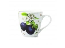 """Marjolein Bastin Kubek porcelanowy XL 176303 """"owoce - śliwka"""""""