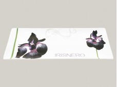 Viva Iris Nero talerz prostokątny duży 72202