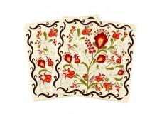 Nanaelo podkładki korkowe 2 szt kwiaty podhale