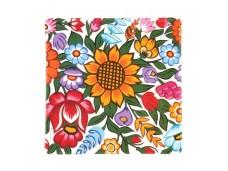 Nanaelo podkładki korkowe kwiaty 2 szt zalipie 2