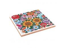 Nanaelo podstawka ceramiczna kwiaty zalipie