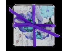 """Ashdene Podkładki małe pod kubki 20025 """"niebieskie kwiaty"""""""